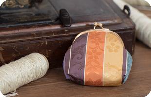 博多織オリジナルガマ口